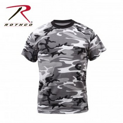 Rothco Colored City Camo T-Shirt