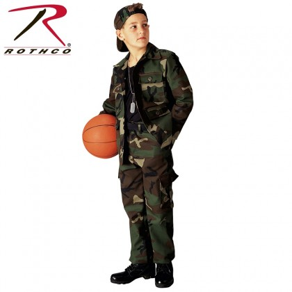 Rothco Kids Woodland BDU Pants
