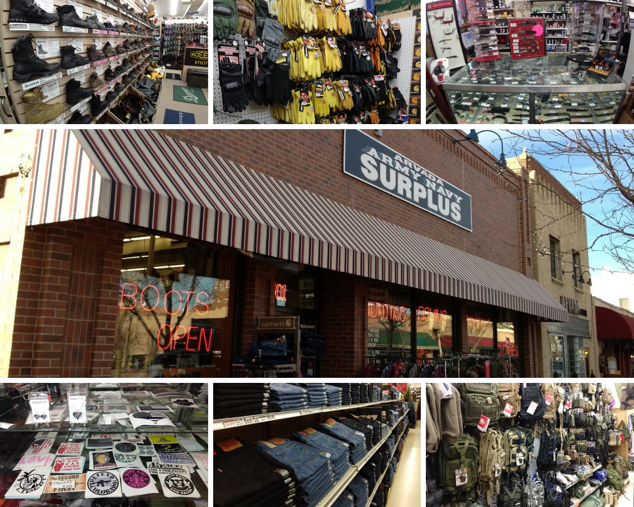 Arvada Army Navy Surplus Store